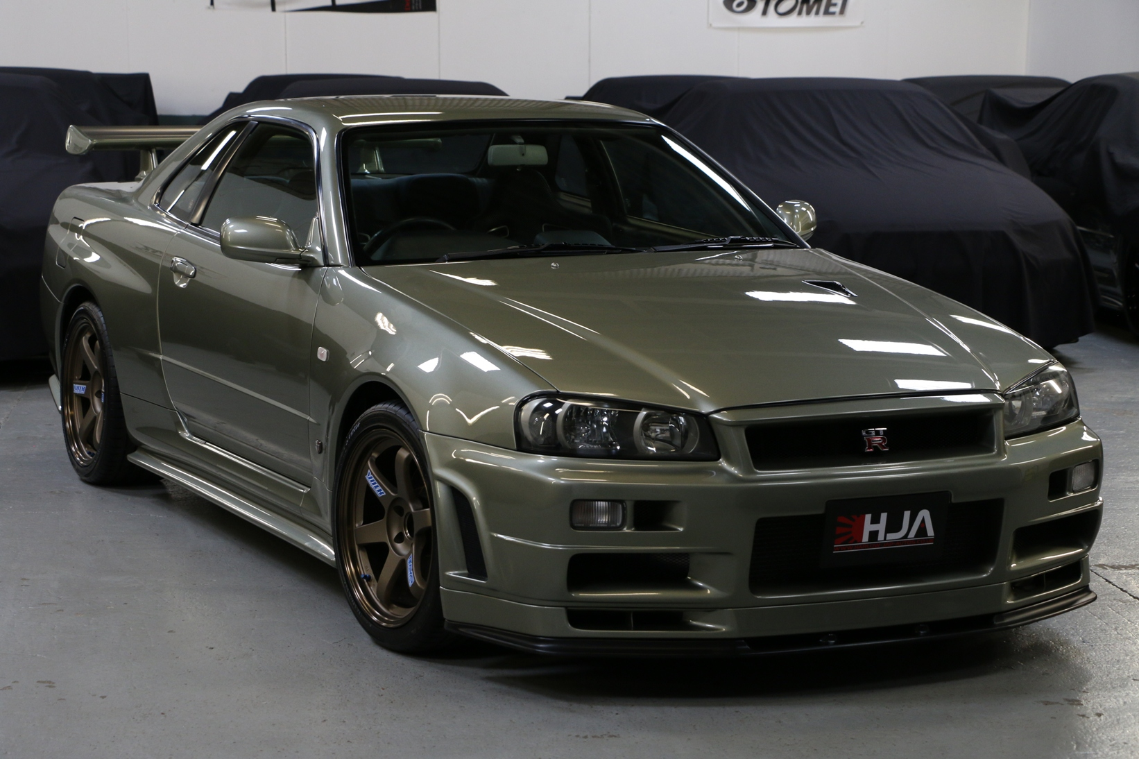 Nissan Skyline R34 Gt R Vspecii Nur Millenium Jade High Import Performance