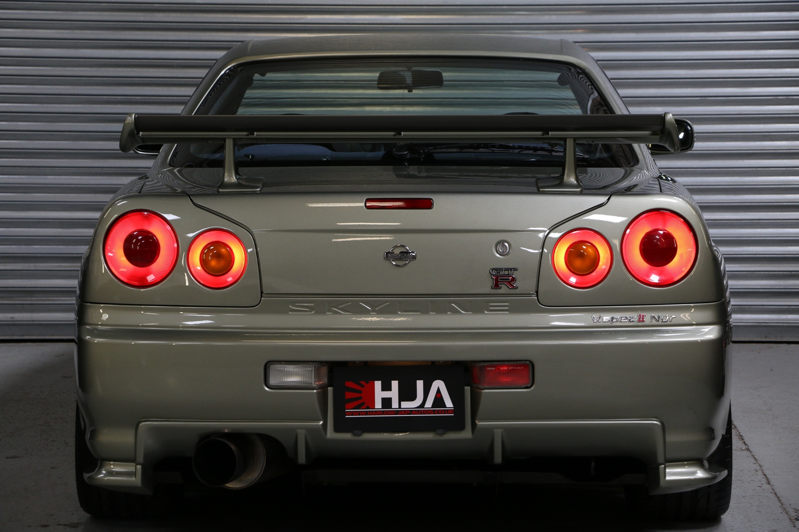 Nissan Skyline R34 GT R VspecII Nur Millenium Jade :: High Import  Performance